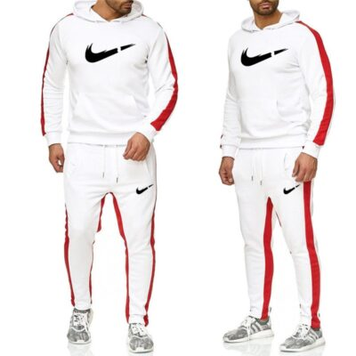 Brand clothing men's casual Sweatshirt Pullover cotton men's sportswear two piece Hoodie + pants sports shirt autumn winter suit