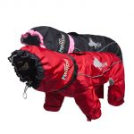 Dog Winter Clothes Warm Dog Coats Windproof Pet Dogs Jacket 3m Reflective Doggy Four-Legged Hoodies Waterproof PETS Clothing