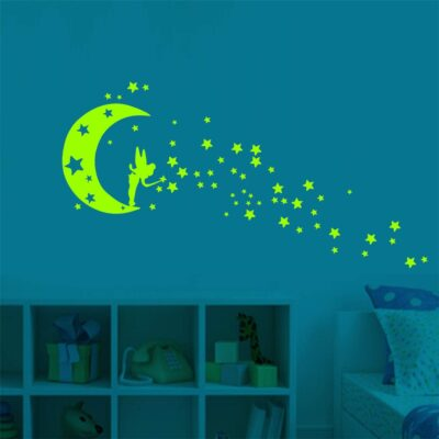 Mobile Creative Wall Affixed With Decorative Kids Room Poster Window Wall Stickers Home Decoration Accessories 2019 W1217
