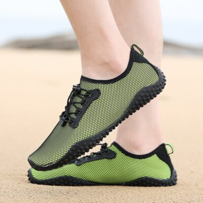Outdoor Five Finger Aqua Shoes for Men Breathable Summer Beach Sandals Upstream Camping Diving Men's Rivers Sport Water Shoes