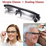 Reading Myopia Glasses Men Women Variable Vision Strength Male Female Glasses Correction Binocular Gafas Focus Adjustable Lens