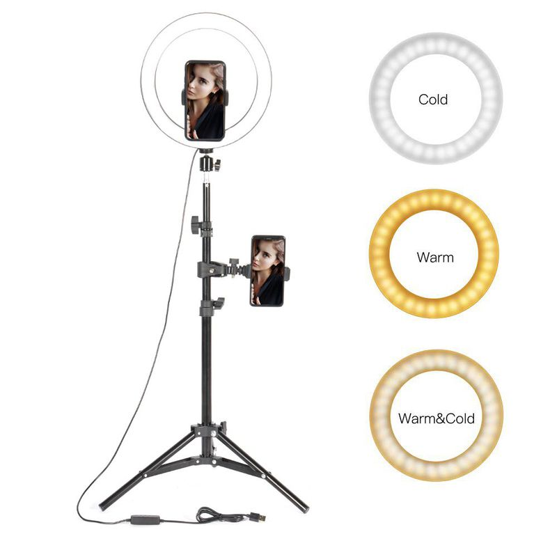 10″ LED Ring Light Photographic Se